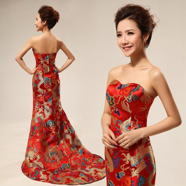 Стильні сукні в китайському стилі 7e155c7e0cab4
