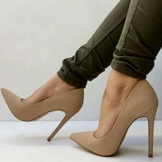 З чим носити бежеві туфлі – рекомендації модницям  9475d09480f8d