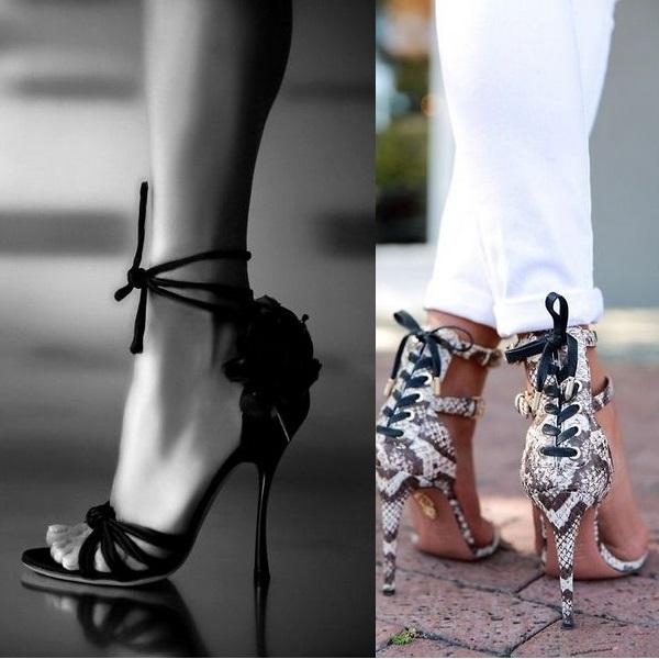 Багато модних в 2017 році босоніжок і відкритих туфель на шпильці мають  вельми цікавий і привабливий дизайн. Так e85ecc1919f95