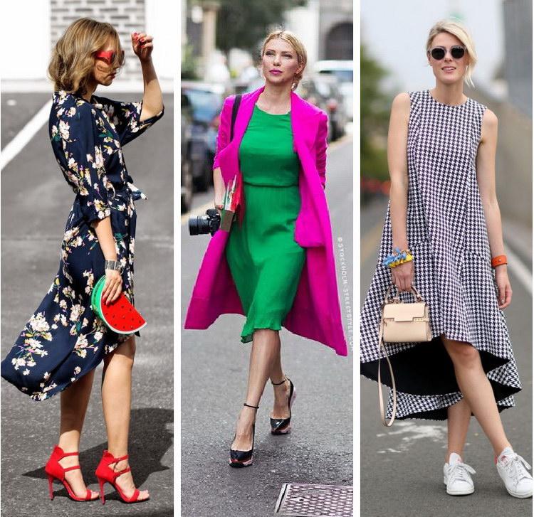 Повседневная Мода Летом 2017