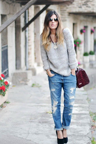 Модні жіночі джинси бойфренди-2017  фото стильних моделей 2096f537ff4fc
