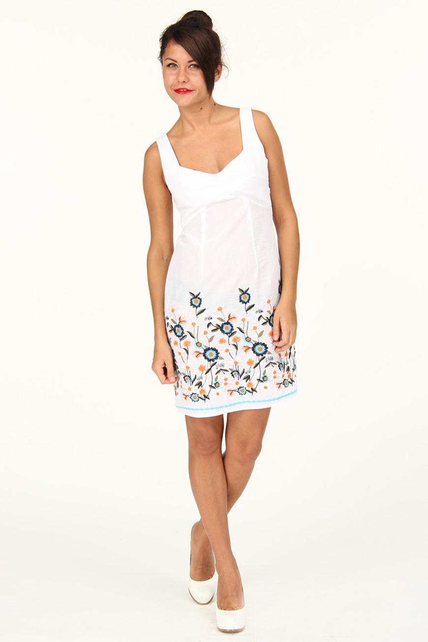Платья фото летние с вышивкой