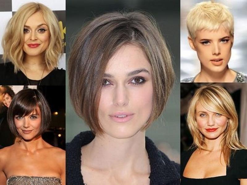 Женские стрижки без челки для коротких волос