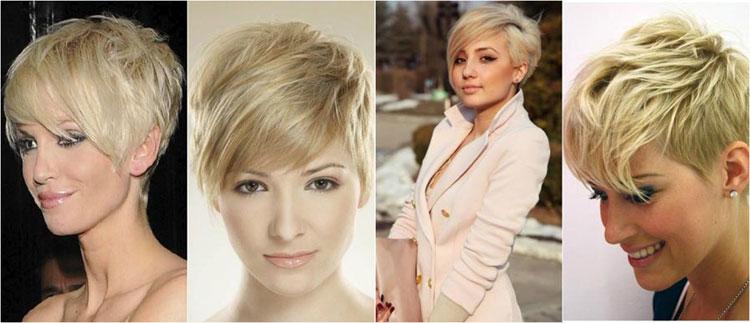 Фото блондинки с короткими волосами без лица