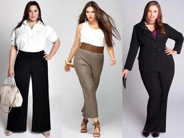 Модні штани для дівчат і жінок з повною фігурою a493f922cf2da