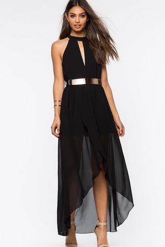 Чорне плаття з золотом ... c0e965570a7eb