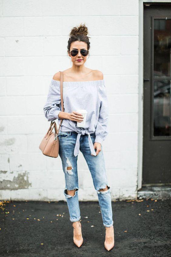 Рвані джинси - 100 модних ідей  58fa8d43cb8f4