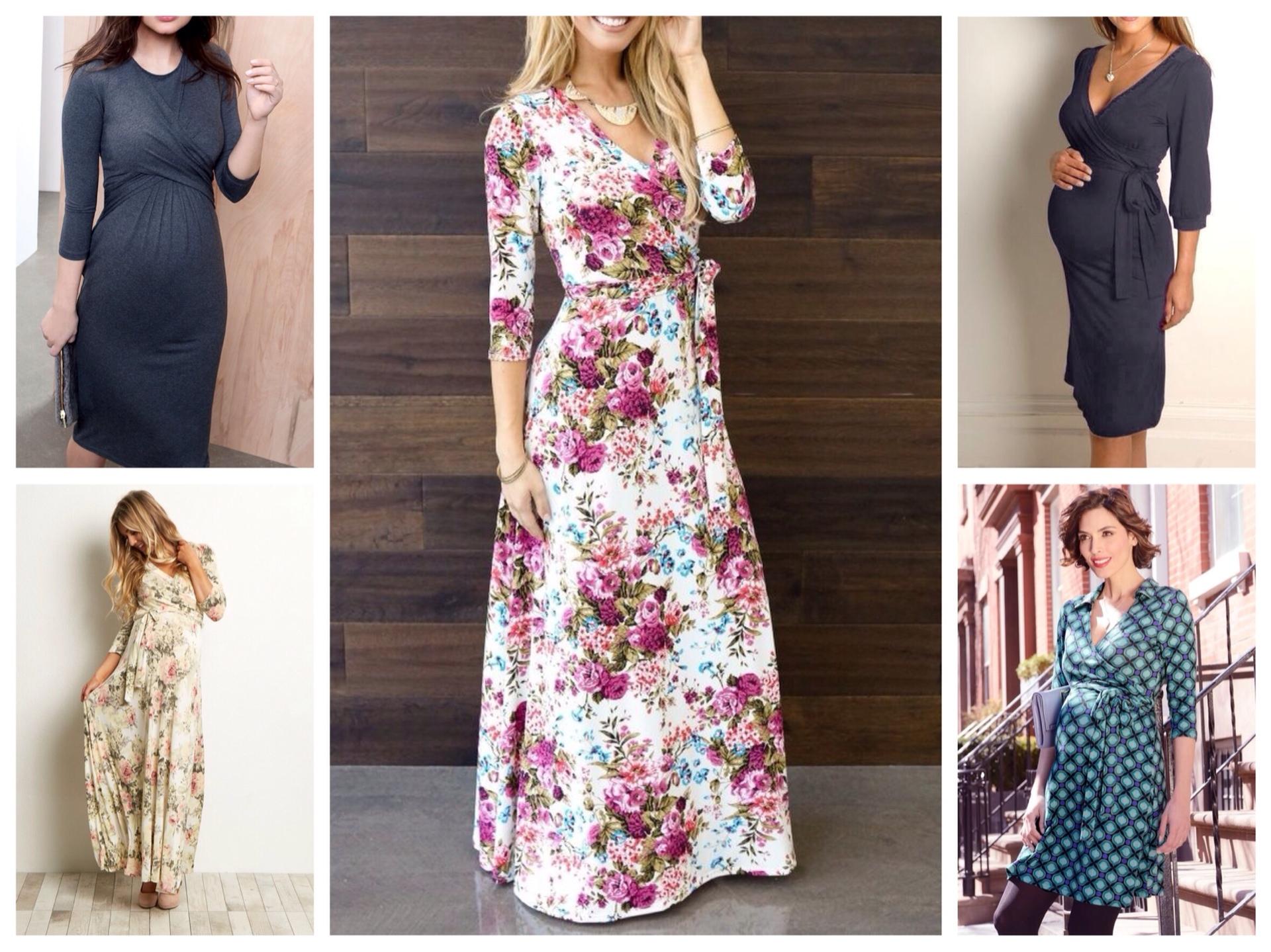 8c3edfa5ca68df Жіночні сукні та спідниці для вагітних - фото модних луків