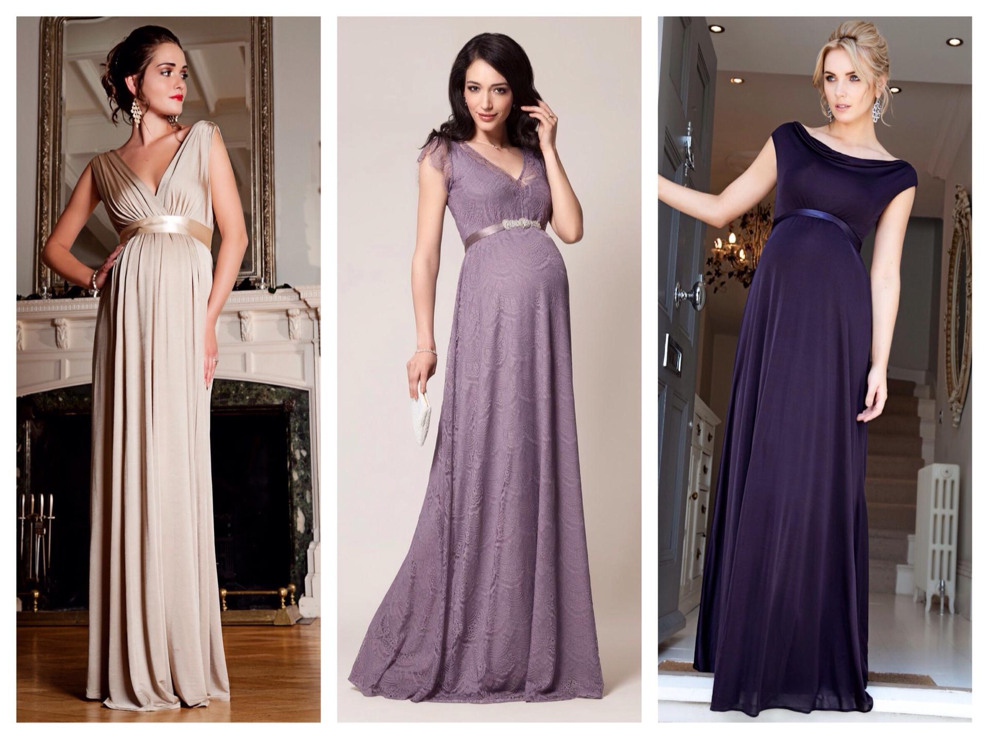 Красивые платья для беременных фото 82