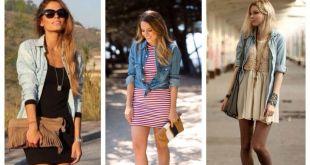 З чим носити джинсову сорочку  модні образи і fashion поради eae028247fd68