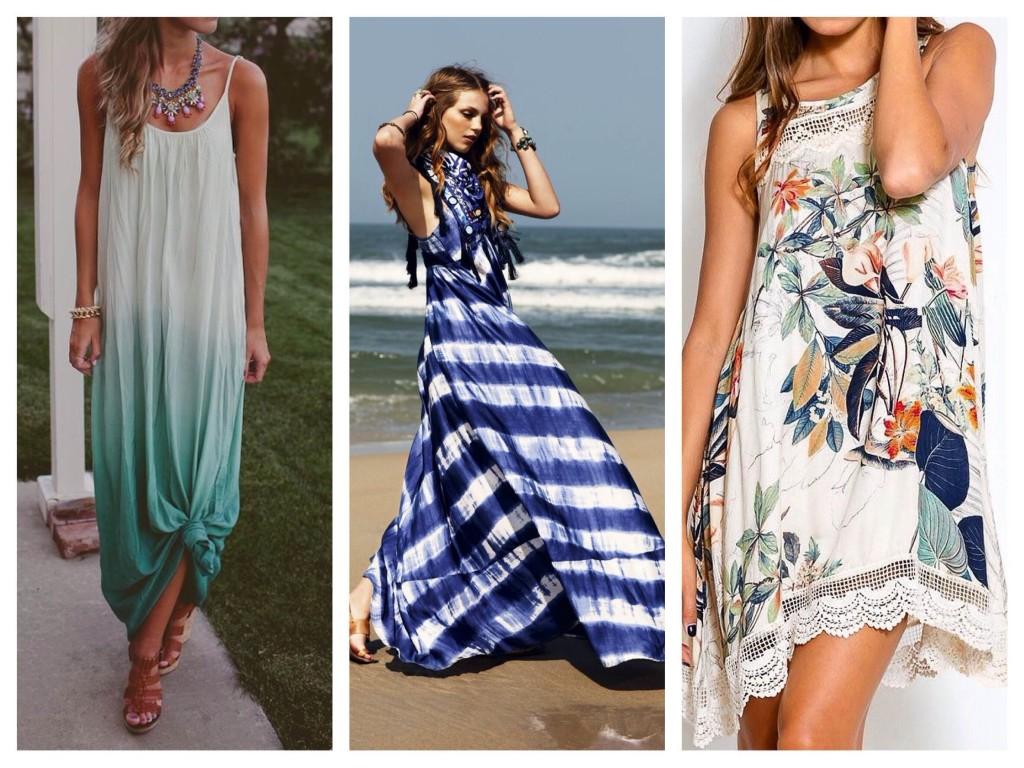 Одежда Для Полных На Море Фото
