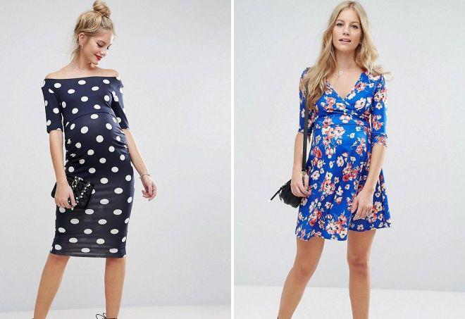 Модні літні сукні для вагітних – довгі і міді 5cb68cbc7db4f