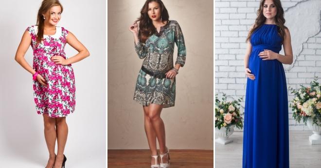 Літні сукні для вагітних – найбільш красиві і зручні вбрання для майбутніх  мам 1388dcbb84a7d