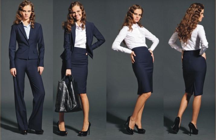 Офісний стиль (108 фото)  одяг для дівчат в офіс e2ffc59e3877e
