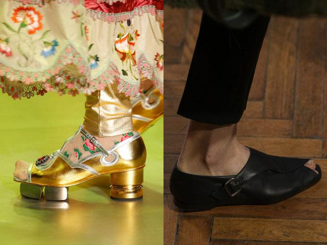 Модні туфлі 2018 з відкритою шкарпеткової частиною 22682e5d99f13