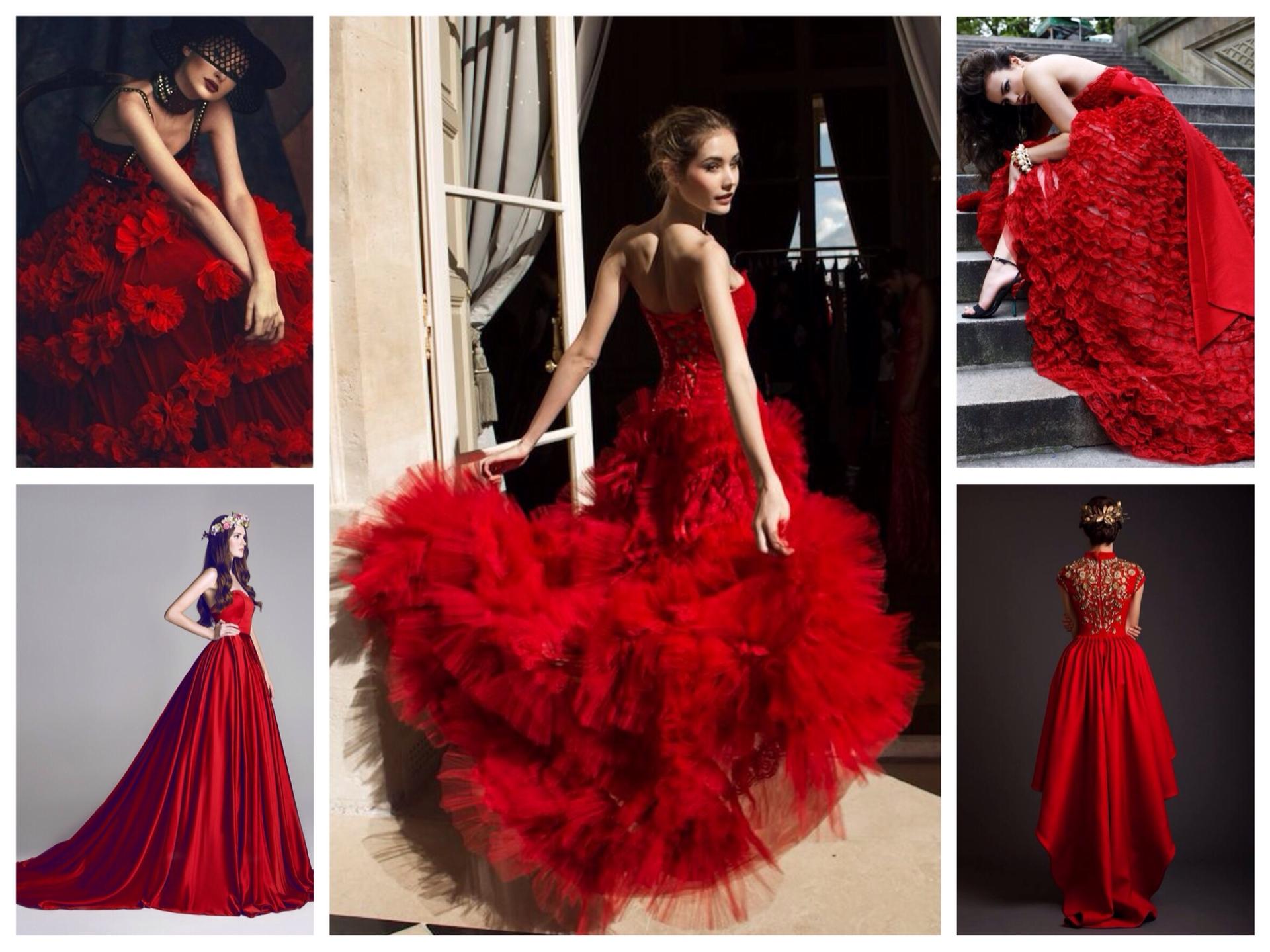 З чим носити червоне плаття  фото 697a20f0a7f80