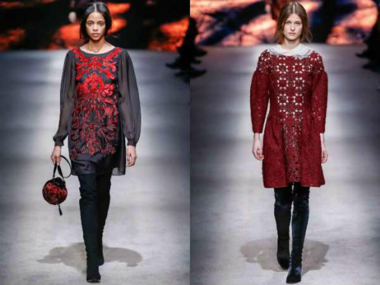 Модні сукні осінь-зима 2017 2018 - популярні тренди (фото) 32ab08f2a9068