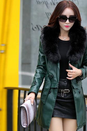 Зимові шкіряні куртки з натуральним хутром  фото хутряних моделей 5dfd9a6d90400