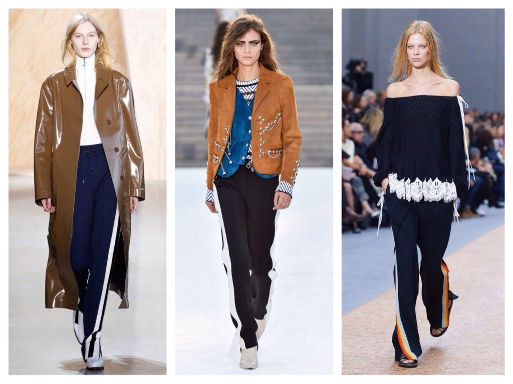 Як і з чим носити штани з лампасами  модні тенденції 2d462ece5dcec