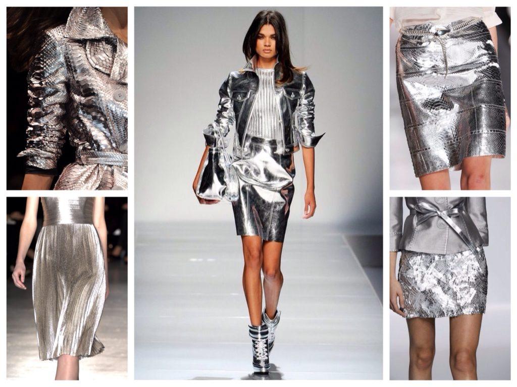 Одяг з ефектом металік  як носити і з чим поєднувати be780c6d4a559