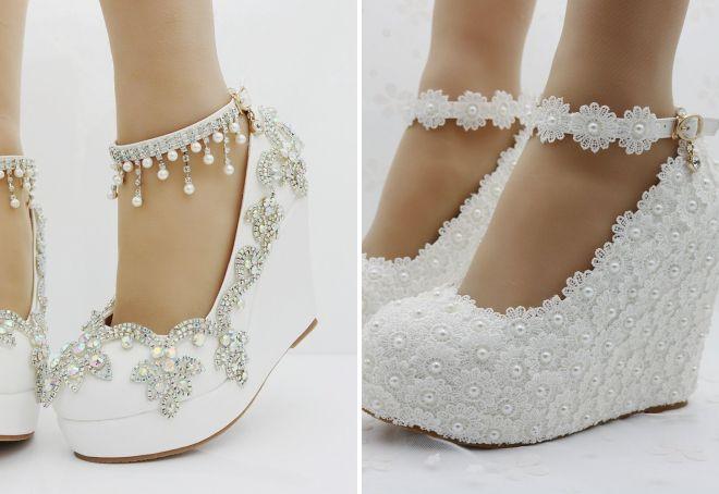 85167977b1d6fc Красиве весільне взуття для нареченої – босоніжки, туфлі, чоботи