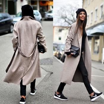 Модні жіночі пальто оверсайз-2018  фото e2554574287ed