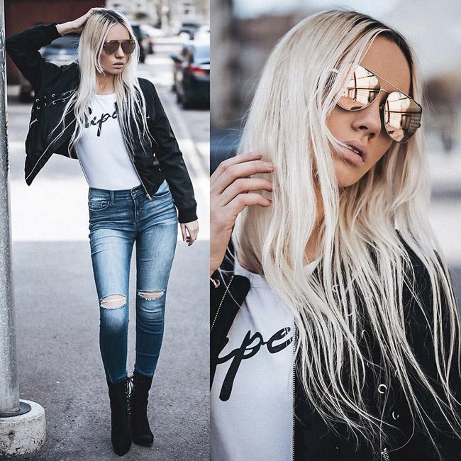 Дівчина в рваних джинсах скінні 62c331546ac32