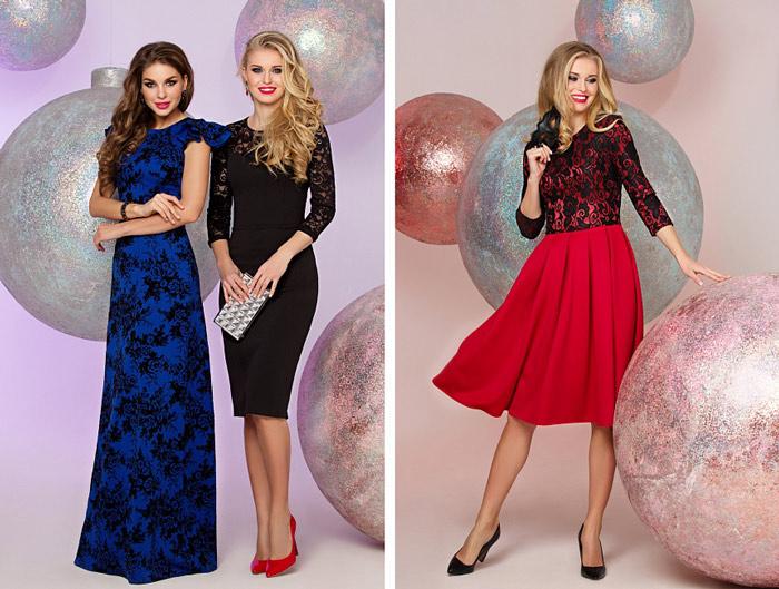 3447a6e4dcc862 Модні сукні на новий рік 2018: фото новинки, для повних, кому за 40 ...