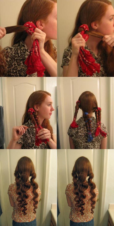 Как в домашних условиях сделать кудри красивые локоны