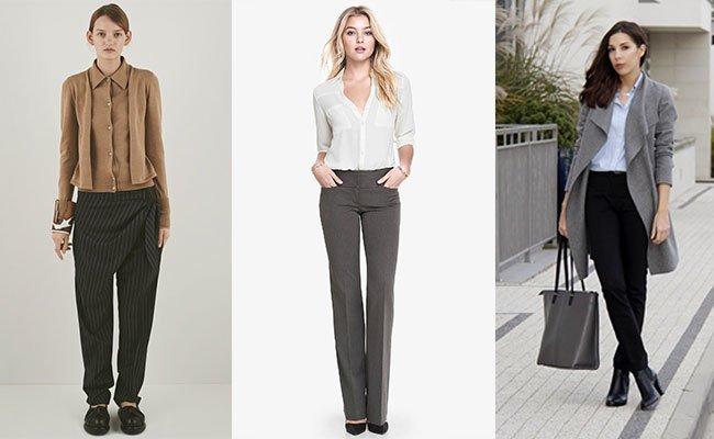 Жіночі штани осінь-зима 2017-2018  модні фасони ccf3938145c86