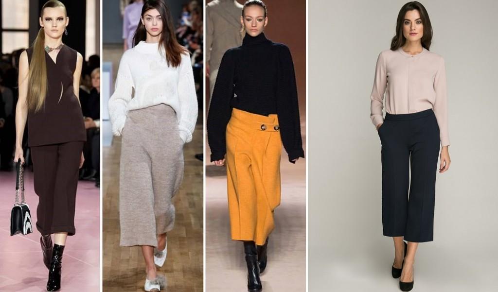 Жіночі штани осінь-зима 2017-2018  модні фасони b49e54a35ef03