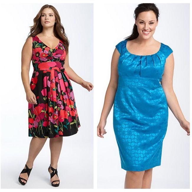 Одежда Для Полных Девушек Для Лета