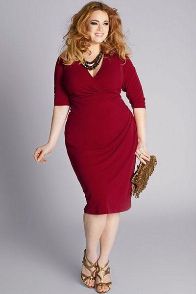 Самими ходовими видами горловин в моделях суконь для повних жінок є  •  V-подібний виріз  • квадратний виріз  • горловина – «човник». b8c33bf52bebd