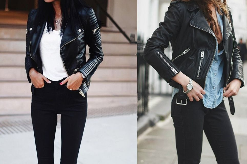 Такі куртки не потребують зайвого декору і складного крою – перфорована  шкіра виглядає стильно сама по собі. 8a6add907d301
