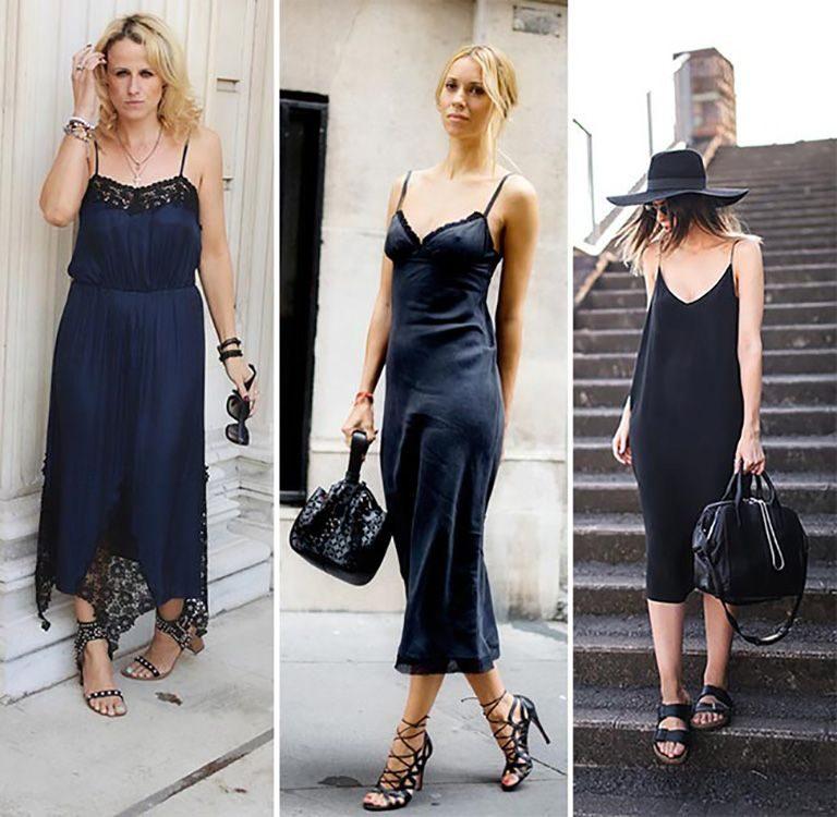 Платье сорочка в бельевом стиле 5
