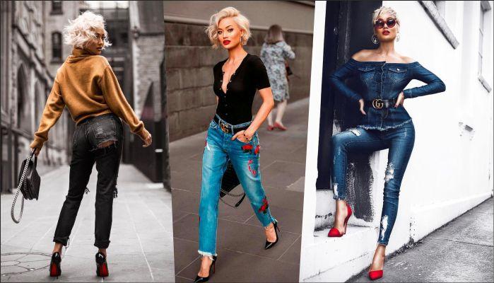 Які джинси варто купити до весни 2018  новинки сезону (фото) 4bd48a319d159