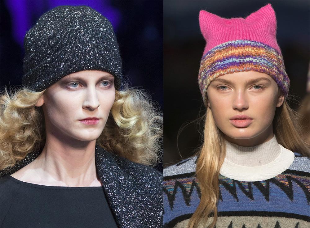 100 модних новинок  Жіночі шапки Осінь - Зима 2018 - 2019 фото 423e0745ccce3