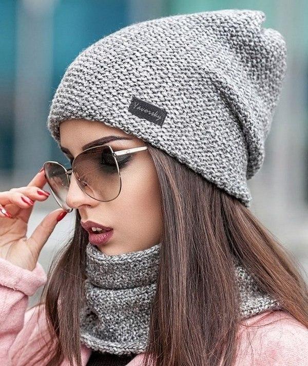 100 модних новинок  Жіночі шапки Осінь - Зима 2018 - 2019 фото a0892029b71d2