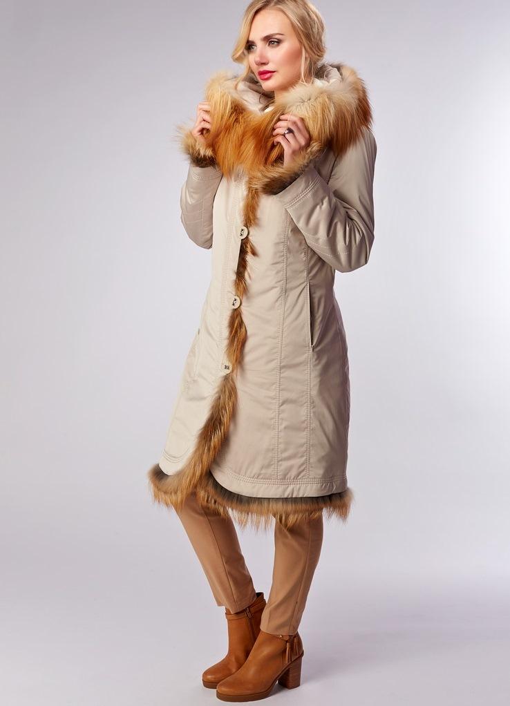 Пальто На Меху Купить