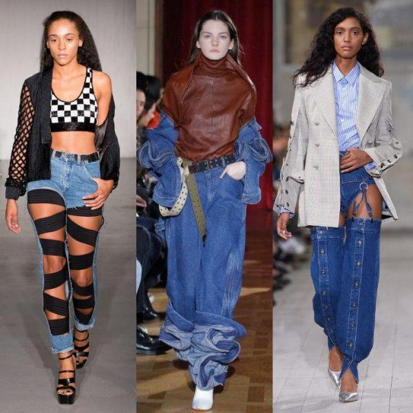 Джинси 2018 року  модні тенденції e13c5c1c1b01a