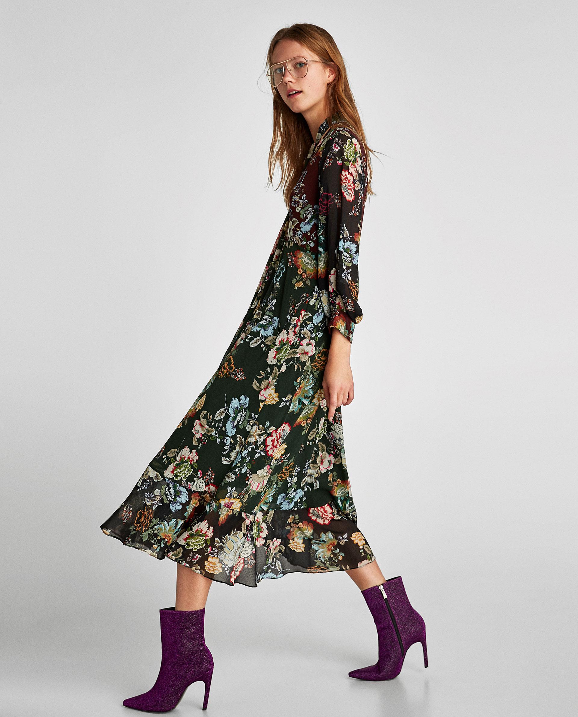919c286c5e0665 Модні сукні з квітковим принтом - на весну і літо, актуальні тренди