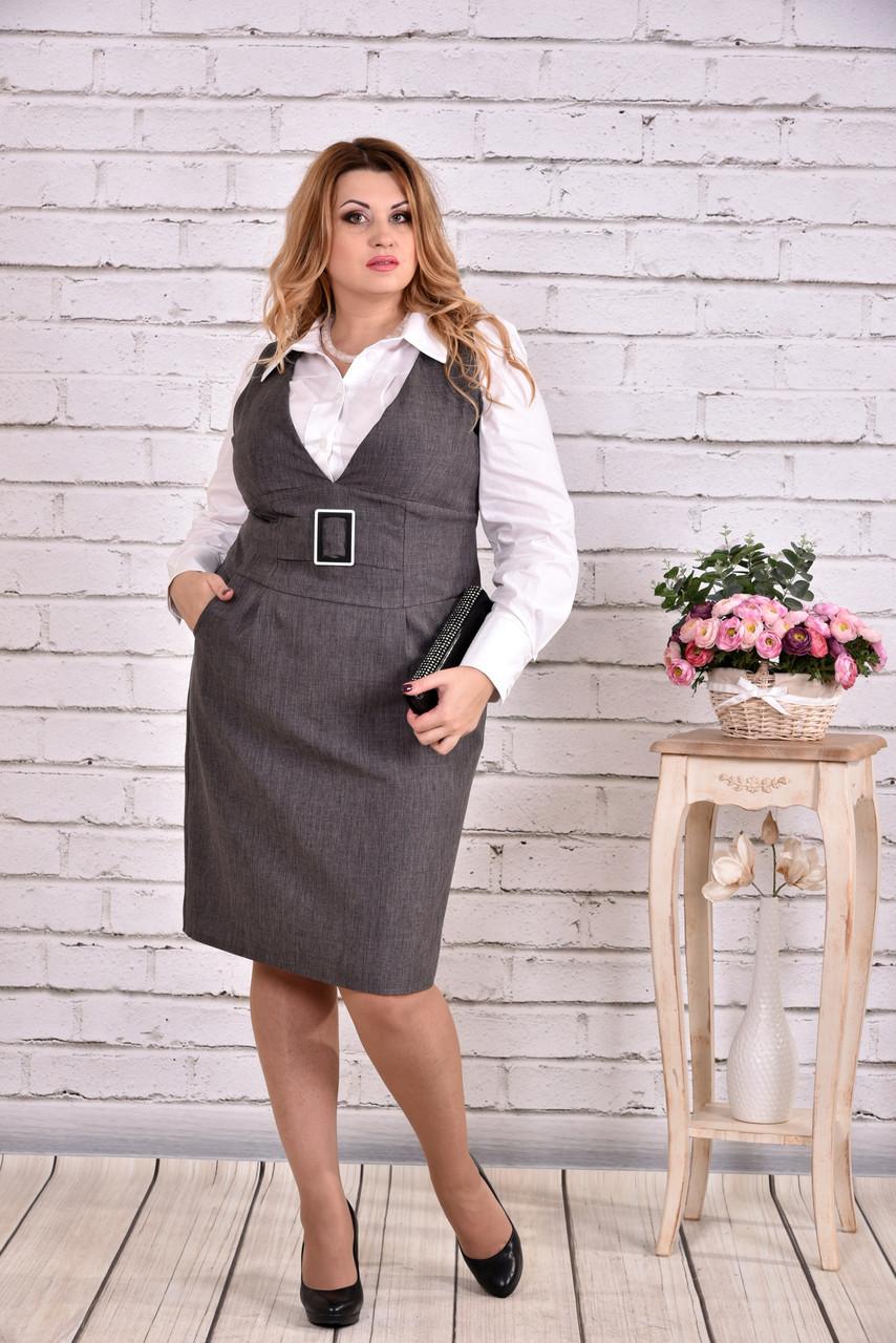 819d4502fe9 Сарафани для офісу  стильні рішення для ділових жінок