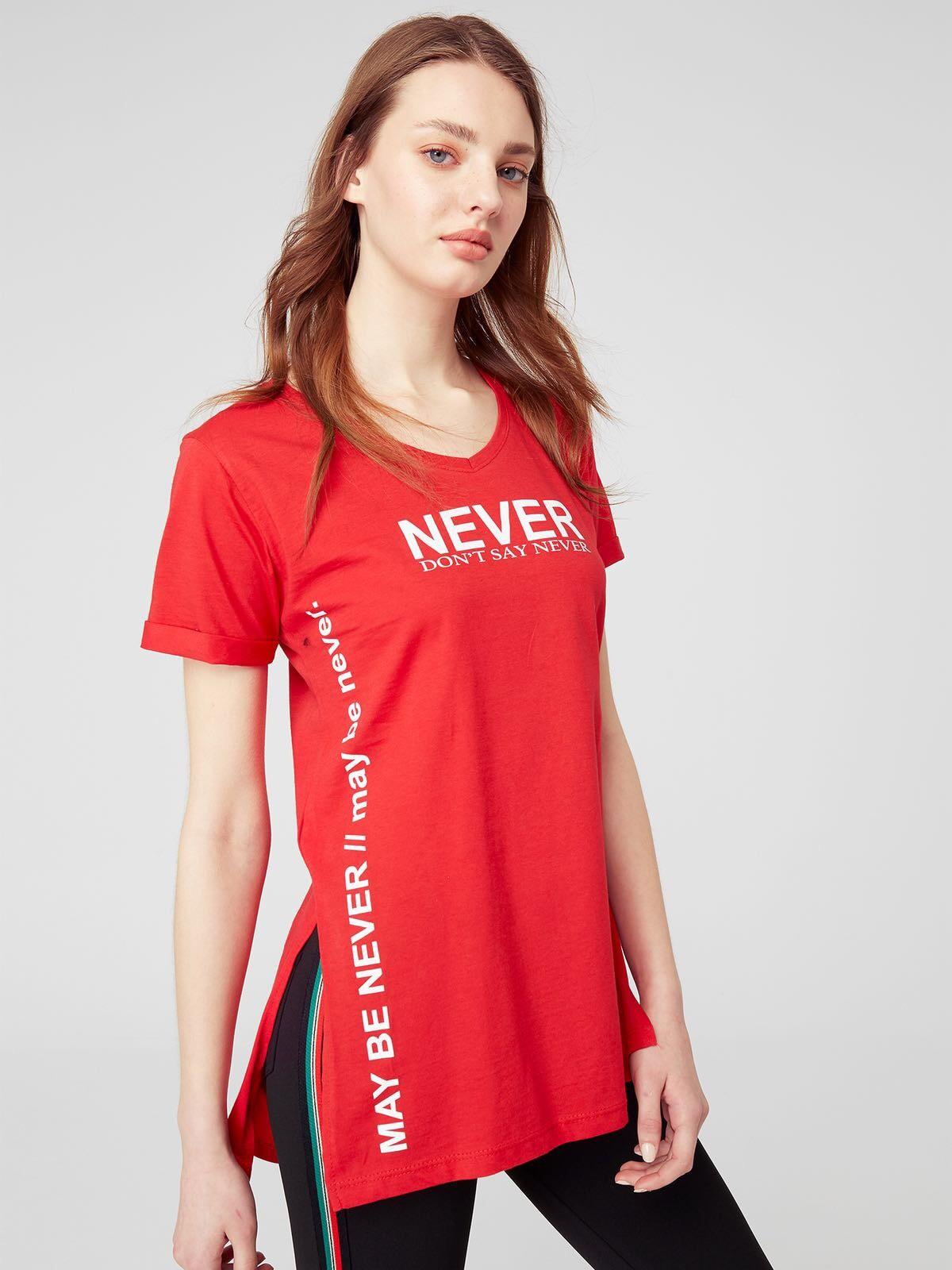 Стильні червоні футболки для яскравих міських образів fc880f505c3be