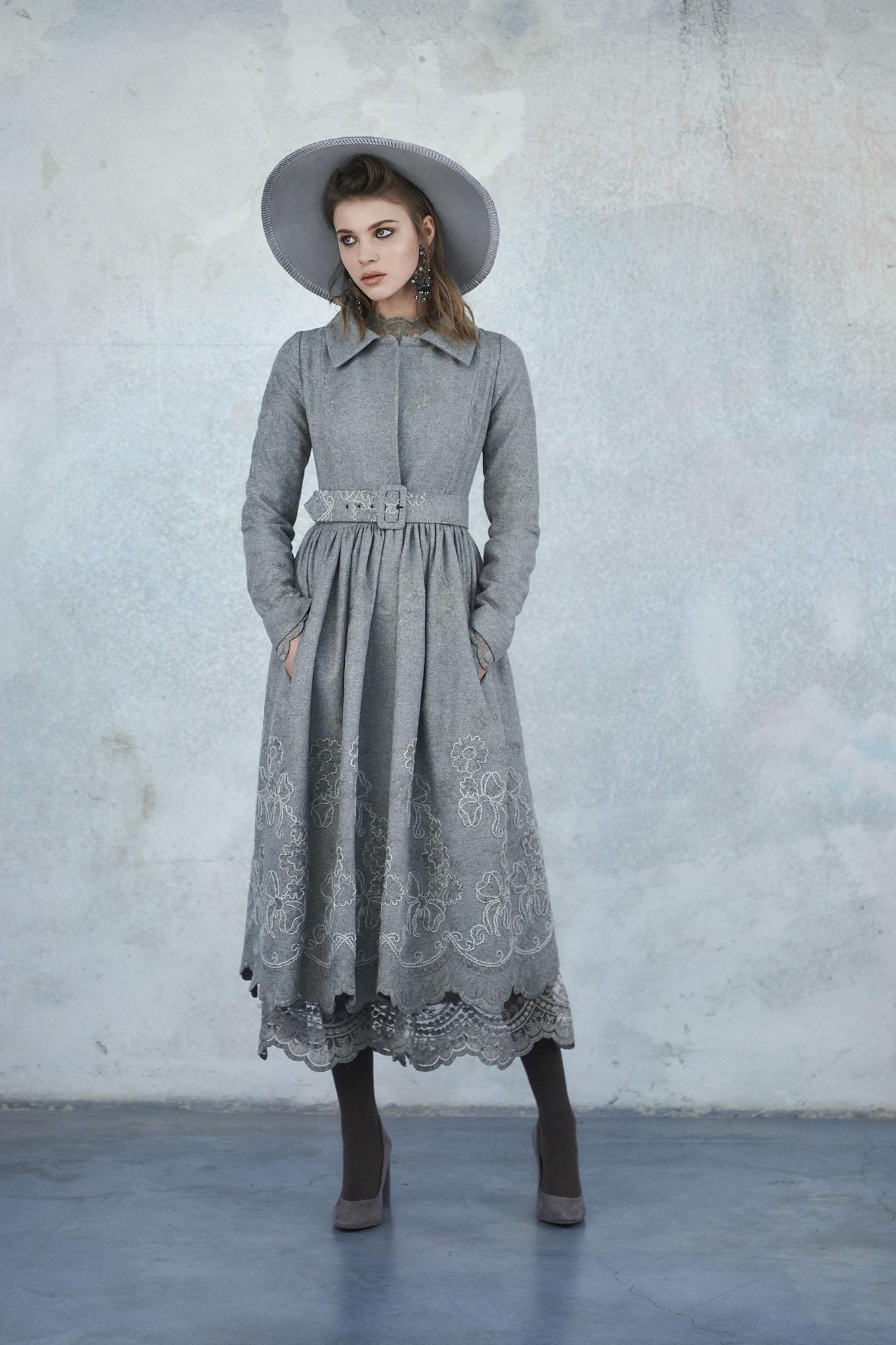З чим поєднувати сіру сукню в жіночому гардеробі (100 фото) 92f96fd8b01fd