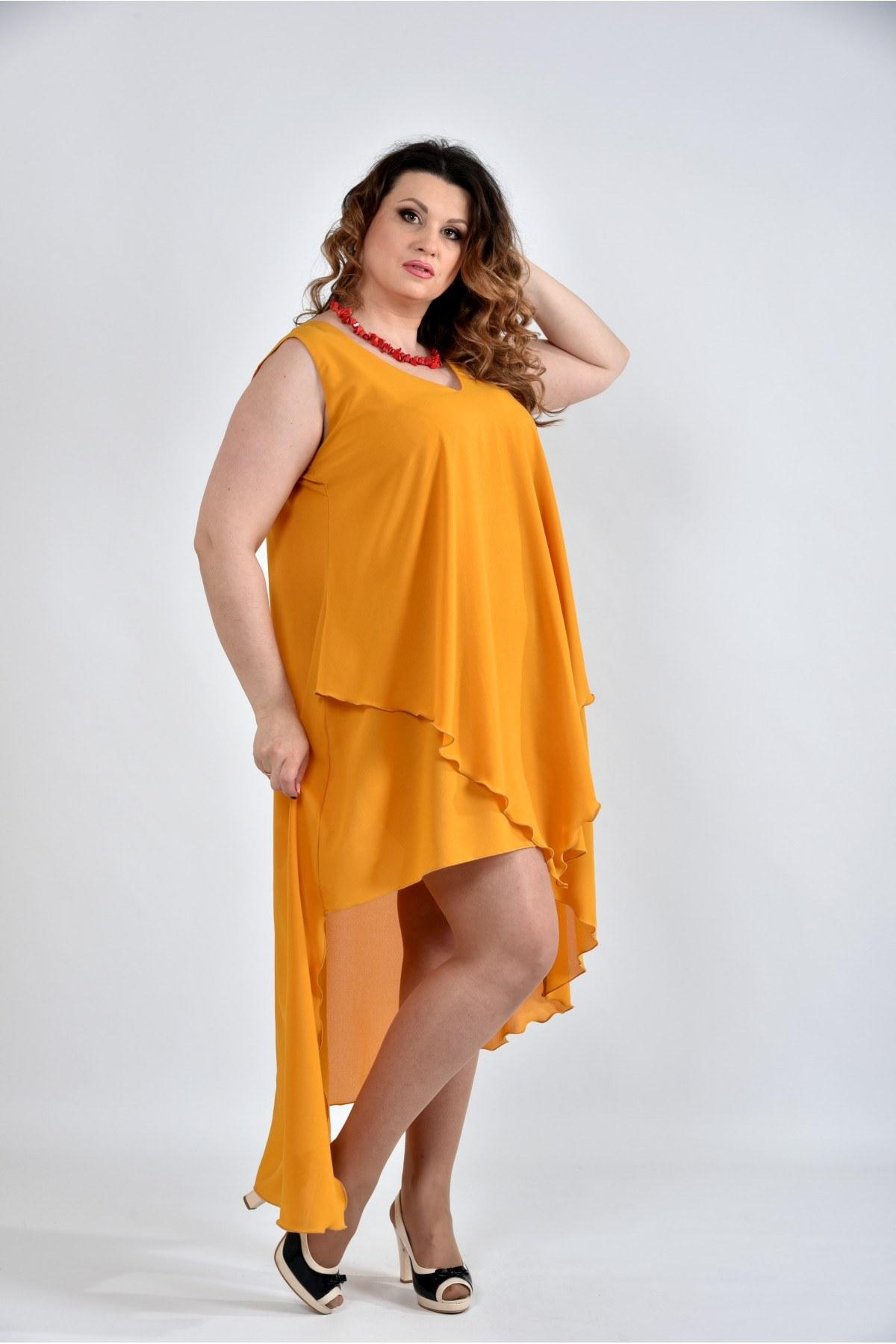 Повсякденні літні сукні для повних жінок  фото-ідеї на кожен день 148bc886dc5a5